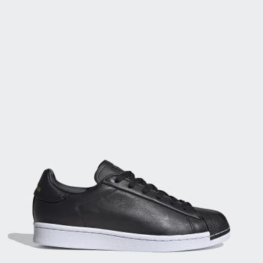 Kvinder Originals Sort Superstar Pure sko