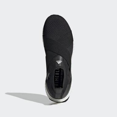 ผู้หญิง วิ่ง สีดำ รองเท้า Ultraboost DNA ทรงสลิปออน
