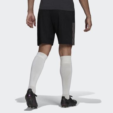 Men Football Black Juventus Tiro Training Shorts