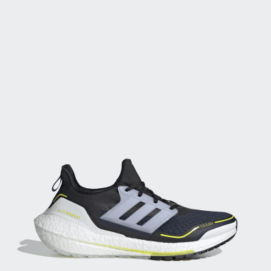 Men Running Blue Ultraboost 21 COLD.RDY Shoes