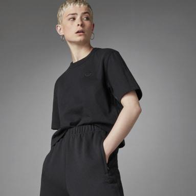 T-shirt Blue Version Essentials noir Femmes Originals