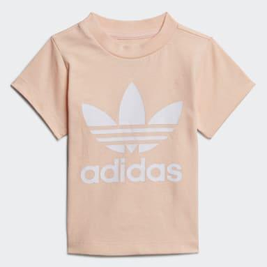 Kinderen Originals Roze Trefoil T-shirt