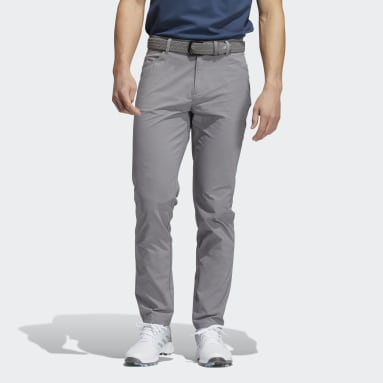 Men Golf Grey Go-To Five-Pocket Trousers
