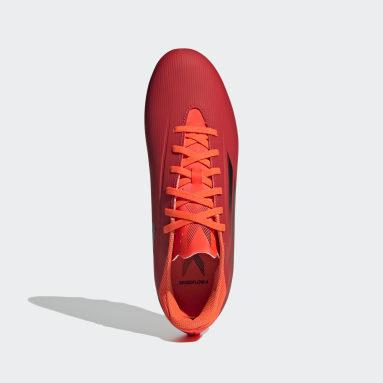 ฟุตบอล สีแดง รองเท้าฟุตบอล X Speedflow.4 Flexible Ground
