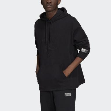 Men Originals Black R.Y.V. Graphic Hoodie