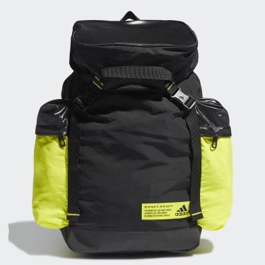 Women Running Black Sports Backpack