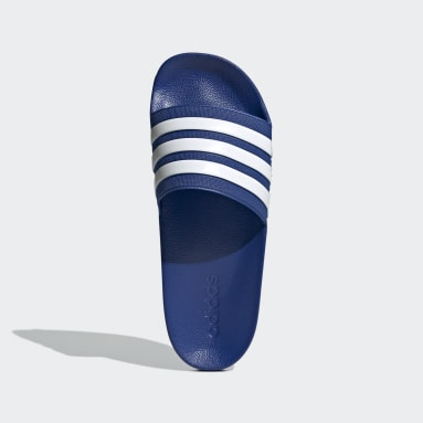 Swimming Blue Adilette Cloudfoam Slides