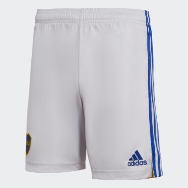 Shorts Visitante Boca Juniors 21/22 Gris Hombre Fútbol