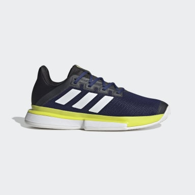 Tennis Blue SoleMatch Bounce Tennis Shoes