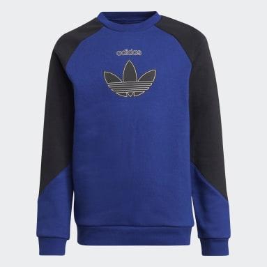 Sweat-shirt adidas SPRT Bleu Enfants Originals