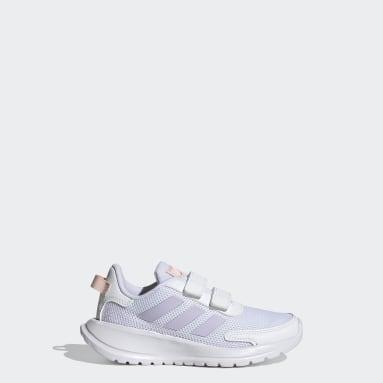 Children Running White Tensor Shoes