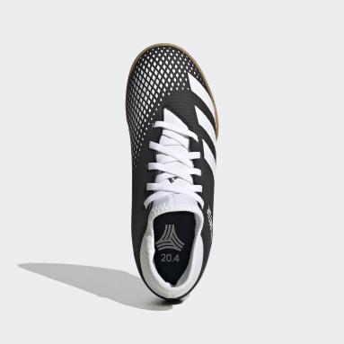 Boys Futsal Black Predator Mutator 20.4 S IIC Indoor Boots