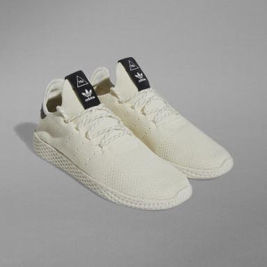 Erkek Originals Beyaz Tennis Hu Ayakkabı