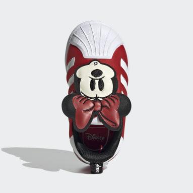 Zapatilla Superstar 360 Disney Rojo Niño Originals