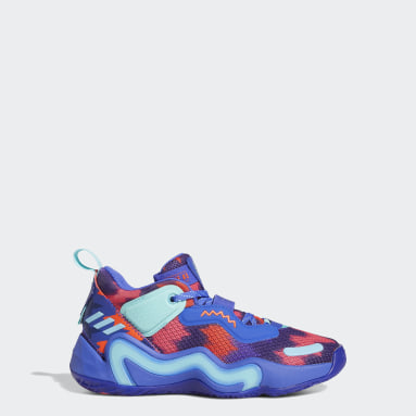 Youth Basketball Blue D.O.N. Issue #3 Shoes