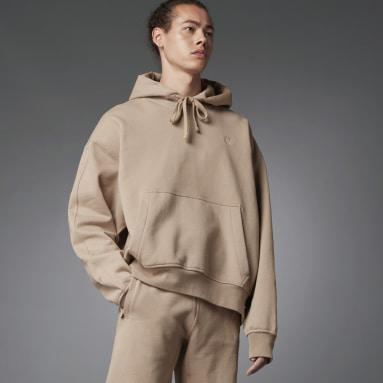 Men Originals Brown Blue Version Essentials Hoodie