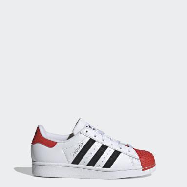 Genç Originals Beyaz adidas Superstar x LEGO® Ayakkabı