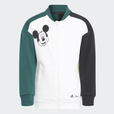 Ensemble Disney Mickey Mouse Blanc Enfants Fitness Et Training