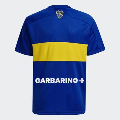 Camiseta Local Boca Juniors 21/22 Azul Niño Fútbol