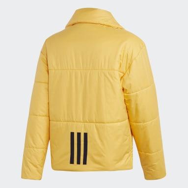 Big Baffle Jacket Żółty