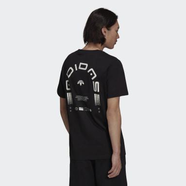 Heren Originals zwart Graphics Symbol T-shirt