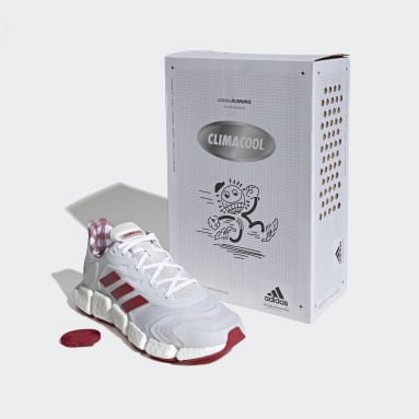 Löpning Vit Climacool Vento Shoes
