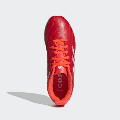 красный Футбольные бутсы (футзалки) Copa Sense.4 IN