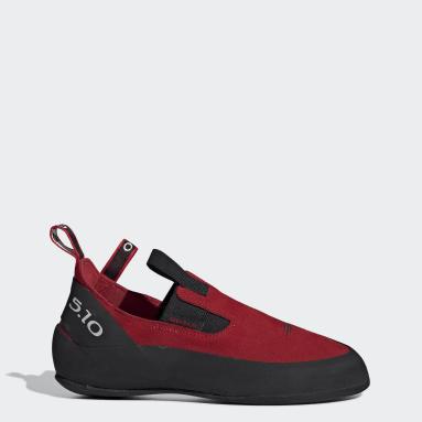 Men's Five Ten Red Five Ten Moccasym Shoes