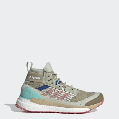 Men TERREX Green Terrex Free Hiker Blue Hiking Shoes