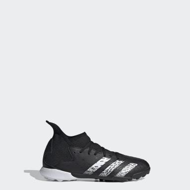 Botas de Futebol Predator Freak.3 – Piso sintético Preto Criança Futebol