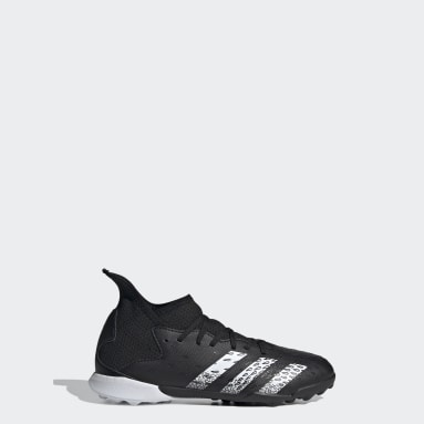Kids Football Black Predator Freak.3 Turf Boots