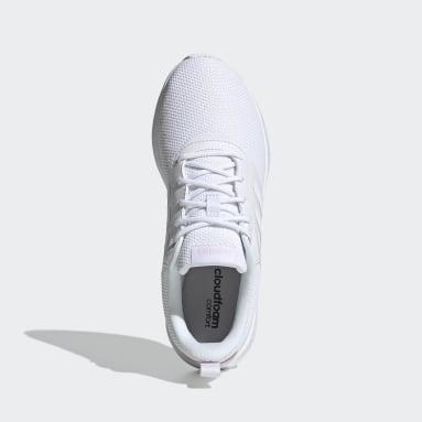 Women's Essentials White QT Racer 2.0 Shoes