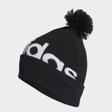 черный Шапка Pompom
