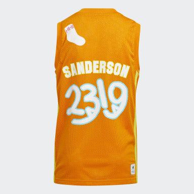 Maillot Little Kids George Sanderson Orange Enfants Basketball