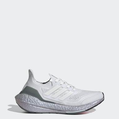 Sapatos Ultraboost 21 Branco Criança Running