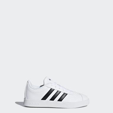Chaussure VL Court2.0 blanc Enfants Essentials
