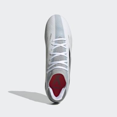Zapatos de fútbol X Speedflow.3 Terreno Firme Blanco Fútbol