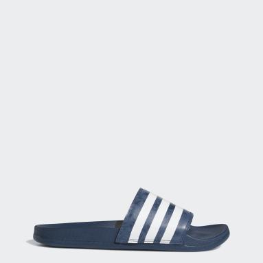 Yoga Blue Adilette Comfort Sandals