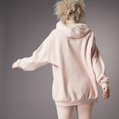 Felpa con cappuccio Hyperglam Oversize Rosa Donna Sportswear