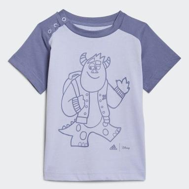 Infants Lifestyle Purple adidas x Disney Pixar Monsters, Inc. Tee