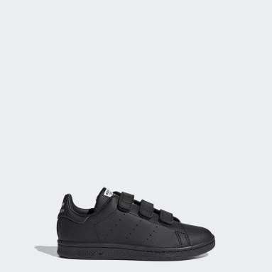 Sapatos Stan Smith Preto Criança Originals