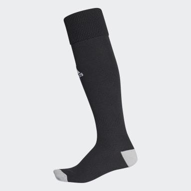 Männer Fußball Milano 16 Socken, 1 Paar Schwarz