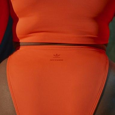 Dames Originals Oranje IVY PARK Snap Bikinibroekje
