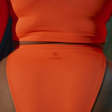 Dames Originals oranje Snap Bikinibroekje (Grote Maat)