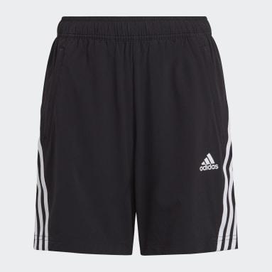 Shorts AEROREADY Primegreen 3 Tiras Tejidos Negro Niño Sportswear