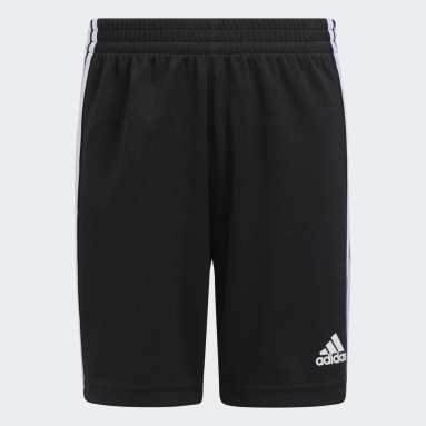 Youth Training Black Classic 3-Stripes Shorts