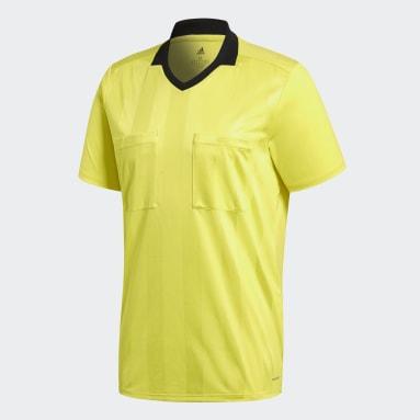 Camiseta Referee Amarillo Hombre Fútbol