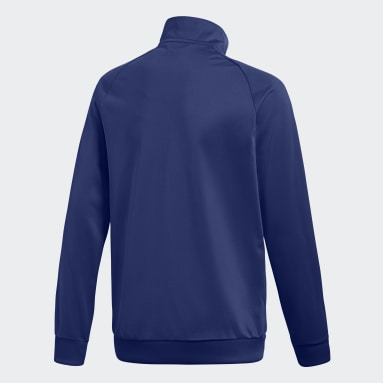 Kids Gym & Training Blue Core 18 Track Top