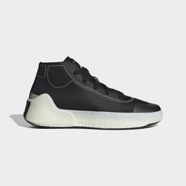 Women adidas by Stella McCartney Black adidas by Stella McCartney Treino Mid-Cut Shoes