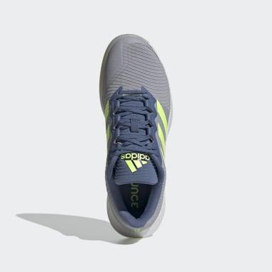 Netball Grey ForceBounce Handball Shoes